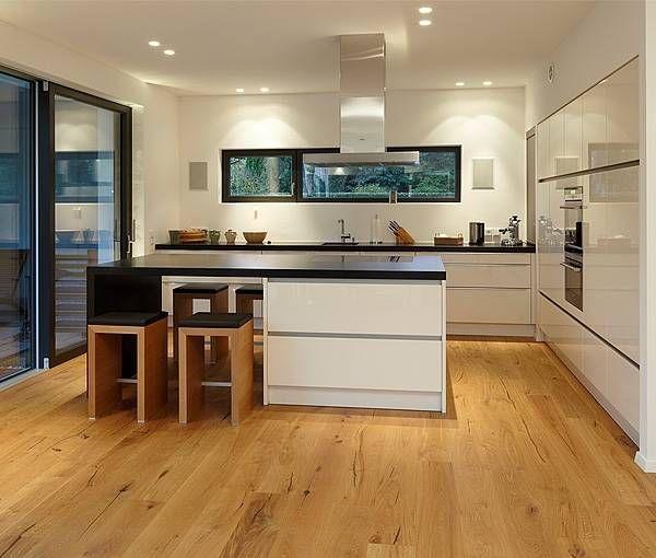 88 best Küche images on Pinterest Kitchen ideas, Modern kitchens - moderne modulare kuche komfort