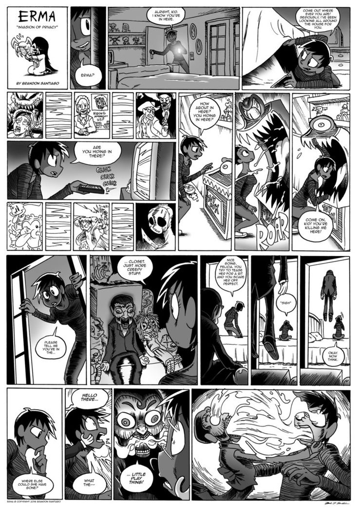 Erma- Invasion of Privacy by BJSinc.deviantart.com on @DeviantArt