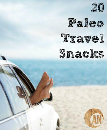 20 Paleo Travel Snacks
