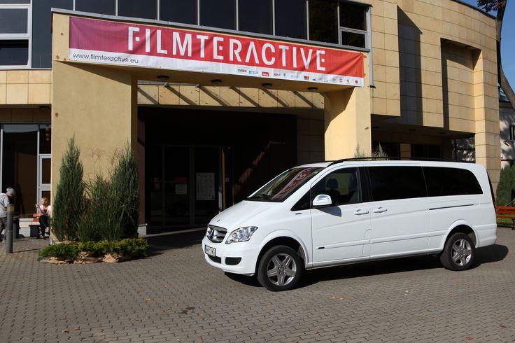 Filmteractive VIP car. Mercedes Polska - thank you!!!