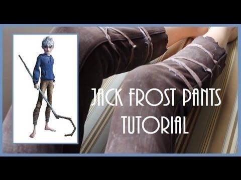 ▶ Cosplay Tutorial: Jack Frost's Pants - YouTube