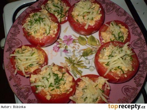 Zapečená a plněná rajčata