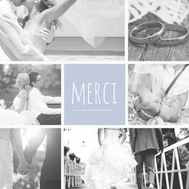 Cartes de remerciement mariage   Enveloppes offertes