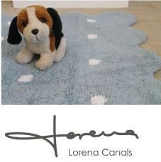 #LorenaCanals rugs for kids add warmth and sweetness, invite to play and create a more homelike environment.