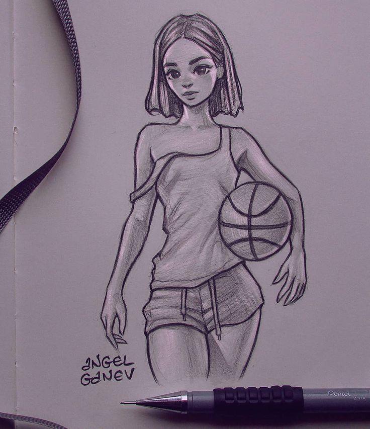 """Angel Ganev auf Instagram: """"Basketball Mädchen …"""