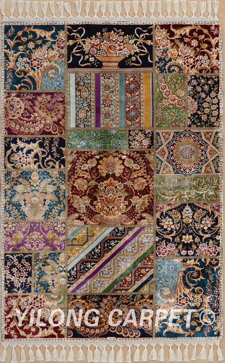 Brown Persian Rug Oriental Turkish Carpet Silk Tabriz Rugs Hereke Area Materials Technology Hand Knotted Size 2 X3 14 X20 Color Blue