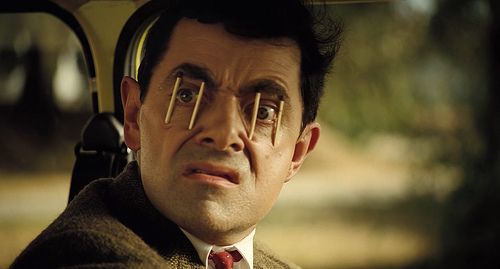 How to stay awake- MrBean style Funny Pinterest - stay awake