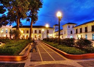 Plazoleta Parque Caldas - Popayan #colombia