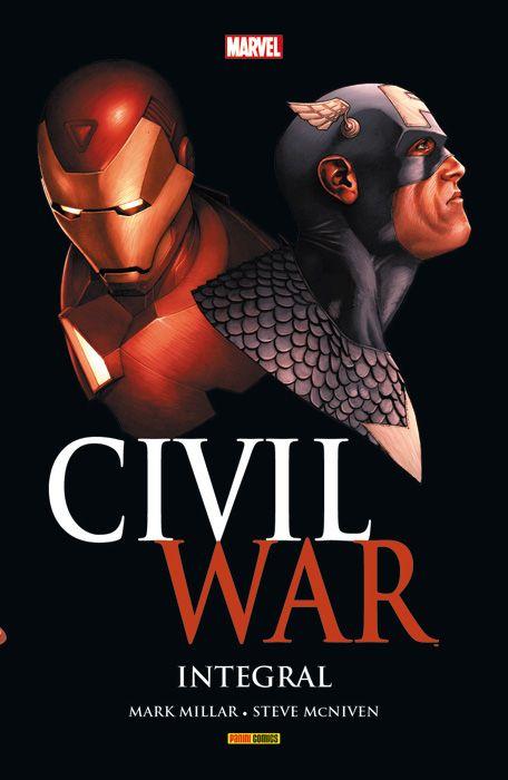 ¡La obra maestra que inspiró Capitán América: Civil War en un espectacular volumen integral! El Universo Marvel está cambiando. Es tiempo de elegir: ¿De qué lado estás? Un conflicto que se ha estado labrando durante años estalla al fin, rompiendo en dos a la comunidad superheroica, y enfrentando a amigo contra amigo, hermano contra hermano. Spiderman, Los Vengadores, La Patrulla-X, Los Cuatro Fantásticos... todos se verán afectados. Todos deberán elegir su lugar en la guerra.
