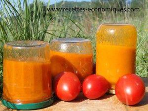 recette de coulis de tomates au thermomix