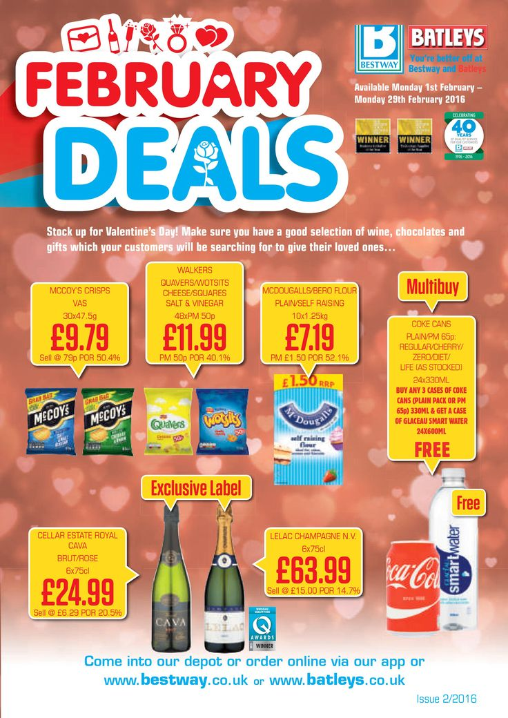 Bestway offers 1st - 29th February 2016 – searching to know what's in and what's hot in the Bestway UK for this Month?