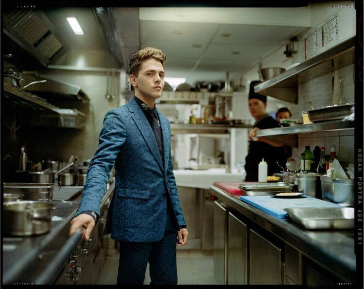 Xavier Dolan by Benoit Peverelli for Madame Figaro, June 2014