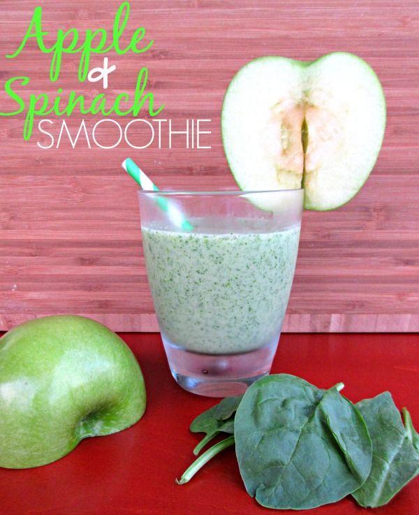 Apple & Spinach Smoothie Recipe