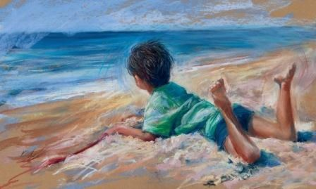 How to paint lifelike portraits of children in pastel | Features | Painters Online