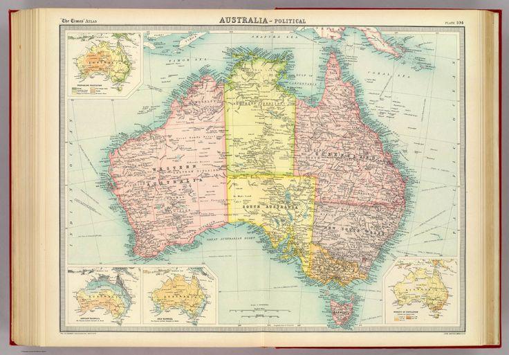 detalles del mapa titulo mapa historico australia politico autor ...