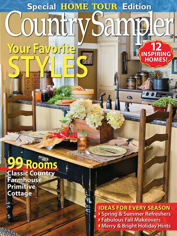 390 best Country Sampler Magazine images on Pinterest | Beautiful ...