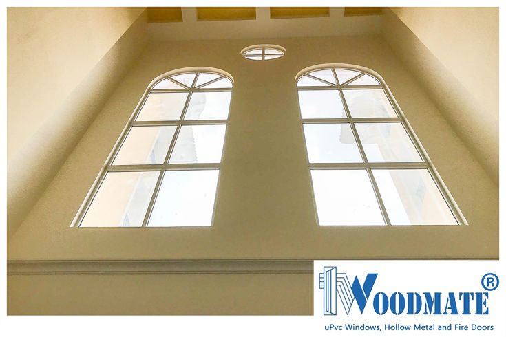 Majestic Gothic Styled windows that dominate the imposing facade of this building. Add #WoodMateWindows to your homes.  #facade #uPVCWindows #upvcdoors  #upvcdoorsandwindows #Doors #windows #beautifulwindows #beautifuldoors #Beautifulhomes #interiors #architecture #Bangalore #DeccanWoodMate