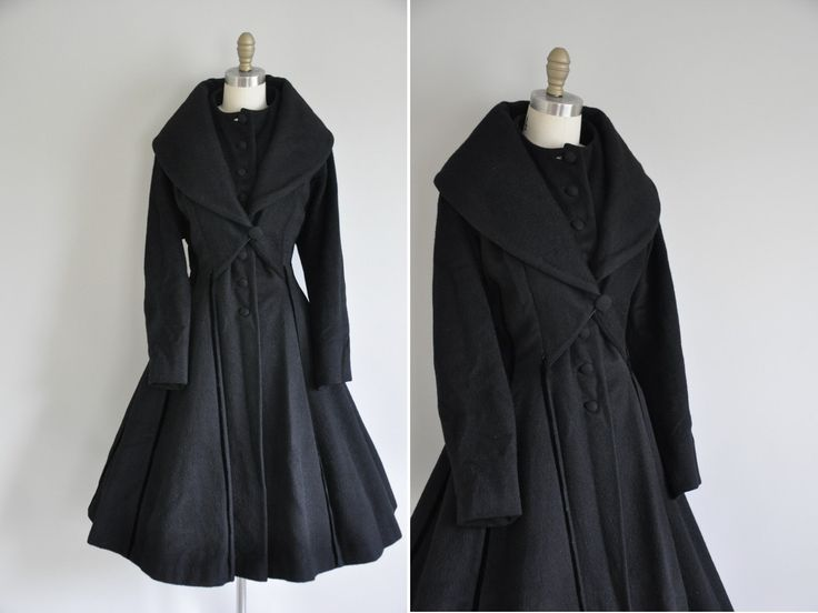 10  images about Princess coats on Pinterest | Wool Black wool