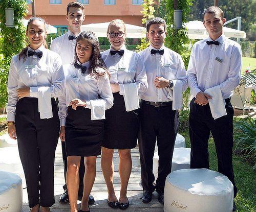 Staff Dressed In Proper Work Uniforms | Karla | Flickr
