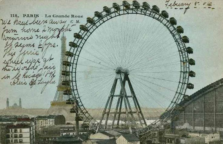 first ferris wheel The first ferris wheel was built by an engineer, george w ferris, to be one of the main attractions of the world's colombian exposition of 1893.