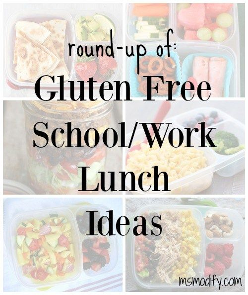 I've searched Pinterest for some of my favorite gluten free lunch ideas that are simple, yet healthy and of course easy to pack the night before! Here they are!