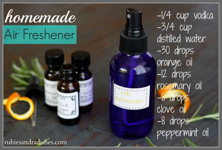 Make Your Own Distilled Water ~ How to make homemade air freshener first us