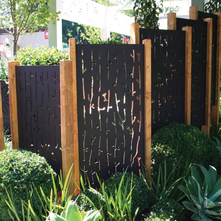 25 best ideas about outdoor privacy on pinterest for Landscaping ideas for privacy screening