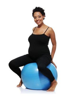 Schwangerschaftsgymnastik: Übung 3