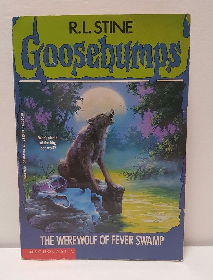 Goosebumps book: The Werewolf of Fever Swamp No. 14 by R. L. Stine