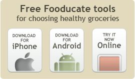 Fooducate is a personal grocery advisor, helping people choose the best food for their families. And this blog is a companion to Fooducate's mobile nutrition app.