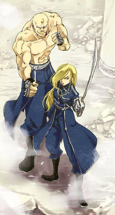 Armstrong siblings        _Fullmetal Alchemist Brotherhood