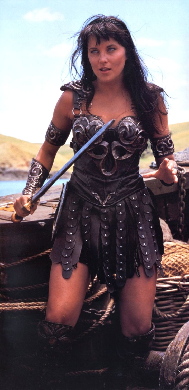 Lucy Lawless as Xena :)