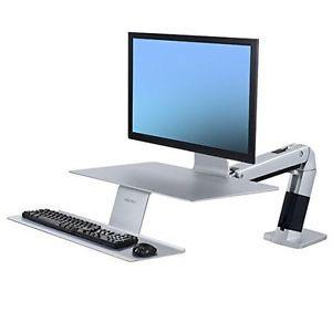 Ergotron WorkFit-A Sit Stand Workstation with VESA Mount   eBay