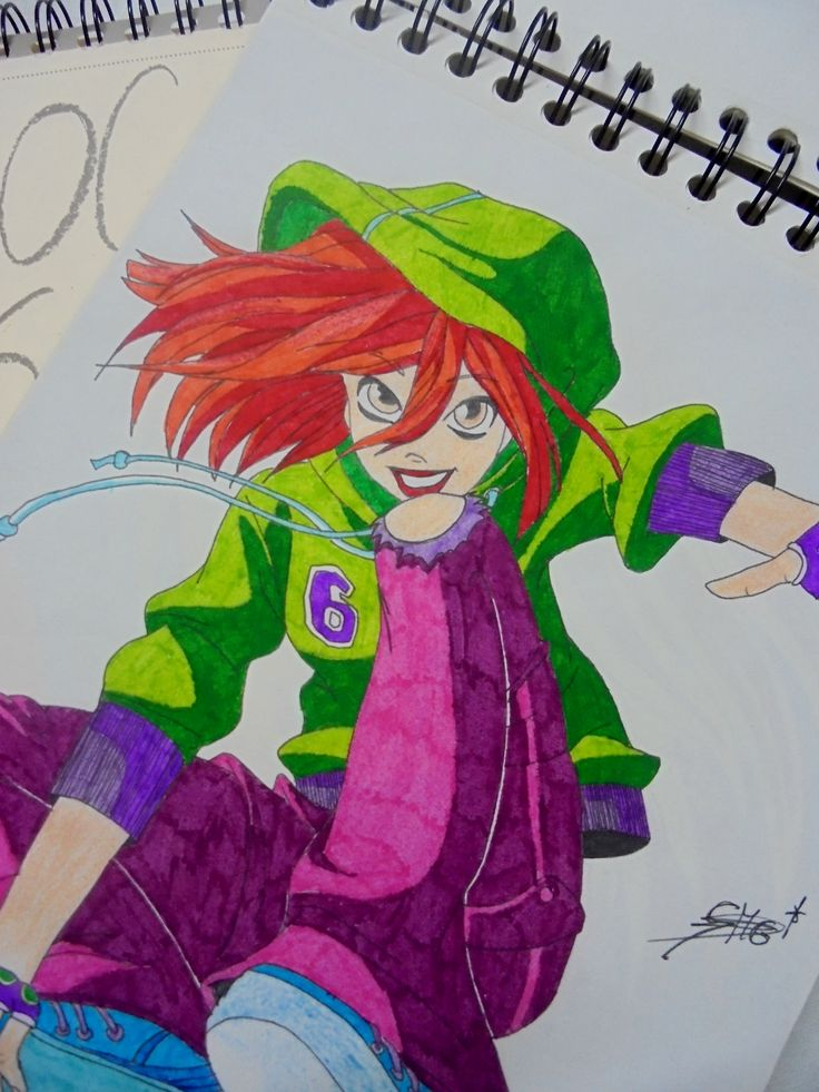 Dibujo Rotulador. Will Witch