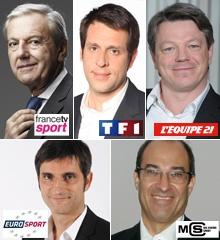 """Rendez-vous du sport #20 : """"Le nouveau paysage audiovisuel sportif français"""" - Les RDV du sport sont en partenariat avec l'ESG Management School"""
