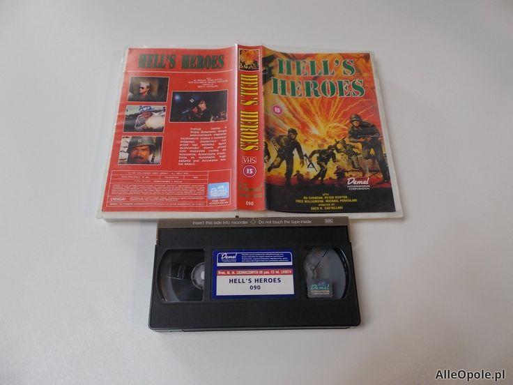 HELL S HEROES - VHS Kaseta Video - Opole 1659 (Opole)