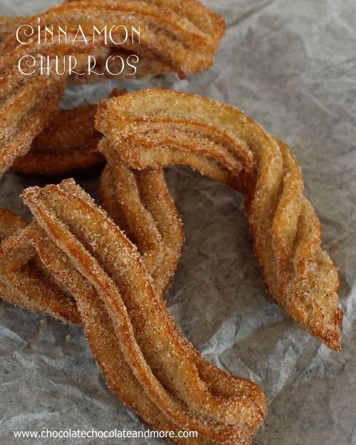 Cinnamon Churros-una gustosa pasta messicano fritta ricoperta di zucchero cannellaDi burro 1/3 di tazza 1 tazza e 1 cucchiaio di acqua Di sale 1/4 cucchiaino 1 1/2 tazza di farina, setacciata 1/2 cucchiaino di cannella 3 uova sbattute 1/2 cucchiaino di vaniglia olio per friggere 1 tazza di zucchero semolato 2 cucchiai di cannella in polvere Istruzione  Assemblare tutte le apparecchiature prima. Avrete bisogno di un pesante tegame di medie dimensioni per preparare la pastella e una seconda…