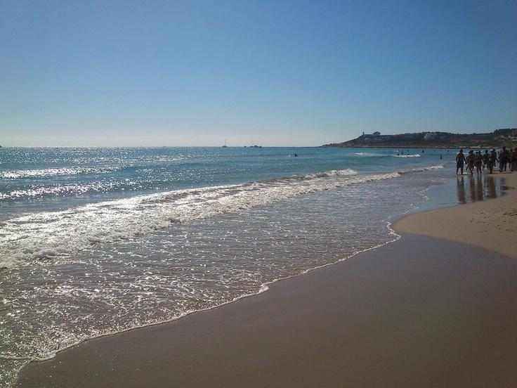Sant Joan Beach in Alicante (Spain)