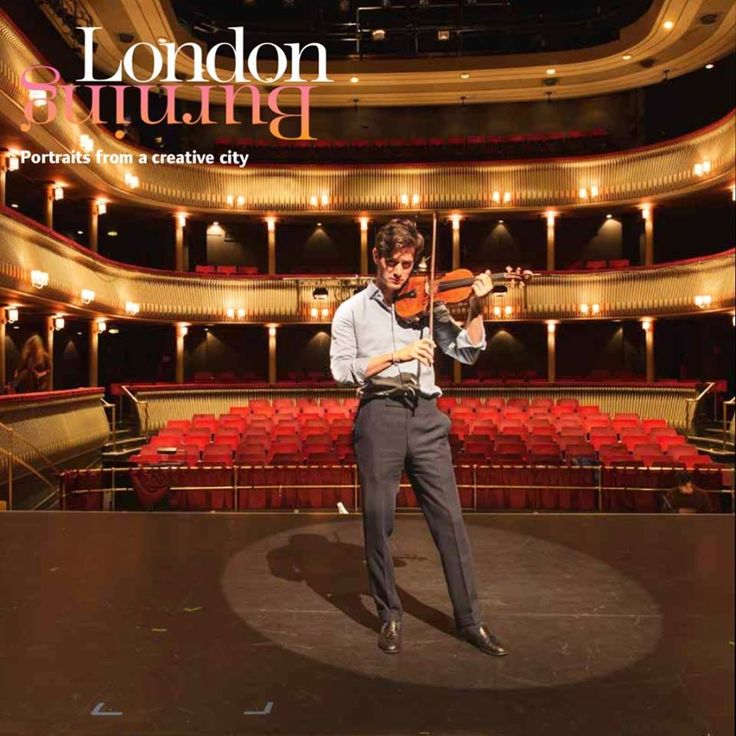 one of UK 's brightest classical stars, Charlie Siem, seen practising on stage at the Royal College of Music  photo by Andrea Jarvis Hamilton #londonburningbook