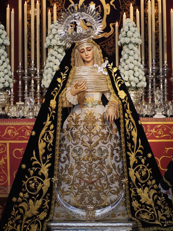 Virgen de la Victoria. Hermandad de las Cigarreras (Sevilla)
