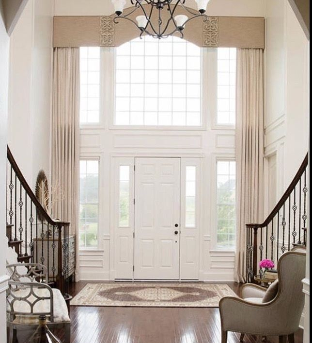 Large Foyer Window Treatment : Best front door side lights images on pinterest