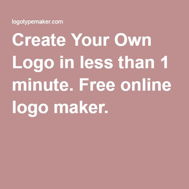 1000+ Ideas About Logo Maker Free On Pinterest
