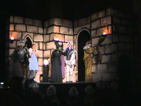 Wizard of OZ play - Witches Castle - Witch Melts - AWESOME! mendham high school,mendham hs - YouTube