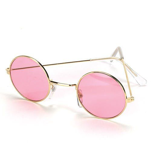 Rose Tinted Spectacles ... I used to have some in baby blue in the early 1970's.