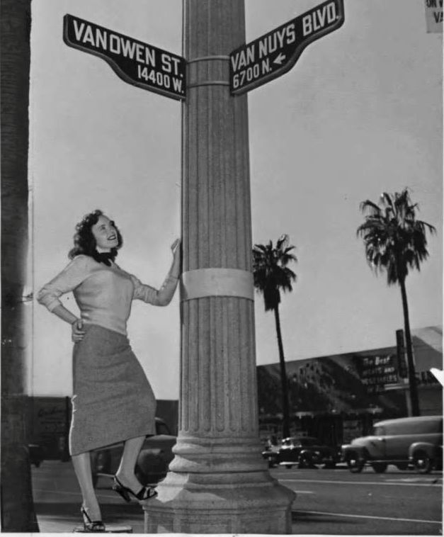22 best history images on pinterest history maps and memories vanowen and van nuys blvd 1958 yelopaper Image collections