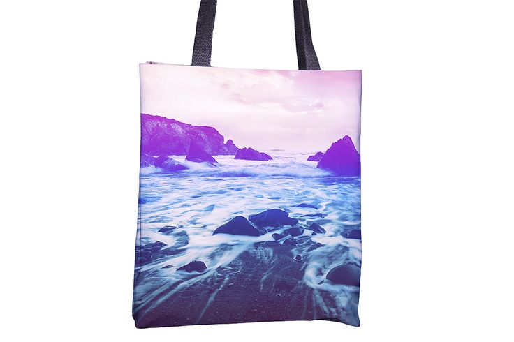 """Tote Bag - """"Dreamy Lagoon"""" http://www.lawleypop.ca/shop/product/tote-bag-dreamy-lagoon/ OFFICIAL LAWLEYPOP MERCHANDISE #allover #full #seamless #doublesided #print #printed #printing #lawleypop #lwleypop #lawleypopdesign #lawleypopmerch #fashion #accessories #style #bags #totes #totebags #handbags #shoulderbags #chic #street #urban #unique #custom #photography #landscape #nature #beach #summer #ocean #tide #lagoon #cove #wonderland #fairy #tale #dreamy #waves #water #label #logo #brand #free"""