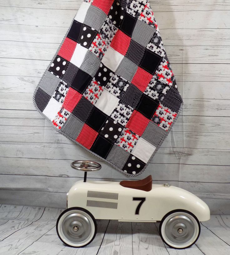 A personal favourite from my Etsy shop https://www.etsy.com/uk/listing/245784244/patchwork-baby-quilt-unisex-baby-quilt