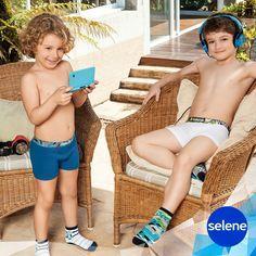 Cuecas e meias para meninos, Selene