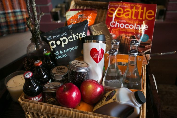 Glamping basket for your out of town guests