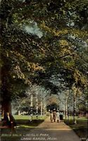 Birch Walk Lincoln Park Grand Rapids Michigan MI c1910